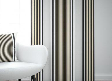 Curtains and window coverings - Ainhoa Réglisse cotton curtain - LA MAISON JEAN-VIER
