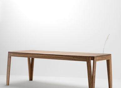 Dining Tables - MeliMelo table in solid walnut - DELAVELLE