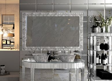 Hotel bedrooms - Bathroom Console 2545 in real Crystal 24% pb - BIANCHINI & CAPPONI