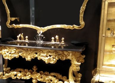 Hotel bedrooms -  Bathroom console 4661/180 in Baroque Style - BIANCHINI & CAPPONI