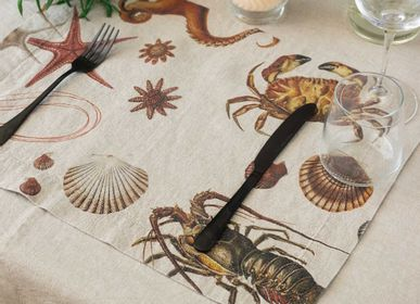 Gifts - Coastal Linen Placemats ǀ Sea Food - LINOROOM
