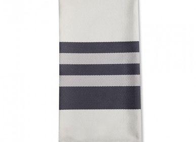 Kitchen linens - Ainhoa Réglisse Cotton Napkin - LA MAISON JEAN-VIER