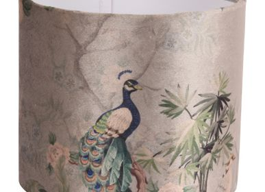 Blinds - Lampshade cylinder Peacock blue - DUTCH STYLE BAROQUE COLLECTION