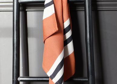 Linge de table textile - Serviette de table en coton Ainhoa Fronton - LA MAISON JEAN-VIER