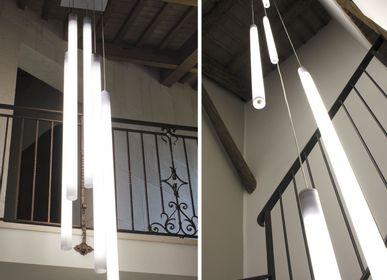 Hanging lights - Stelo Cascata 5×160 T8 LED - OLTREMONDANO