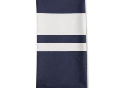 Table linen - Cotton Napkin Pampelune Encre - LA MAISON JEAN-VIER