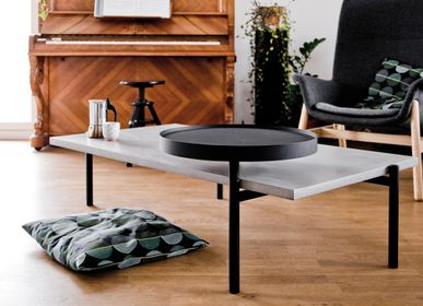 Coffee tables - twist - concrete coffee table - LYON BÉTON