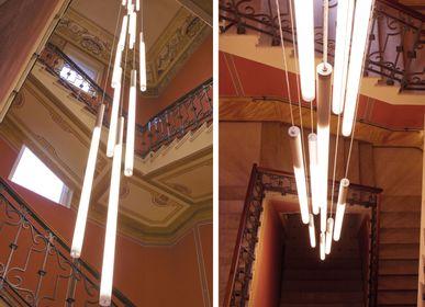 Suspensions -  Stelo Cascata 13 x 160 LED T8  - OLTREMONDANO