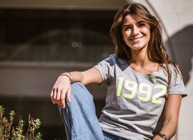 Prêt-à-porter - T-shirt Code Femme Personnalisable  - LA VIE EST BELGE