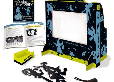 Children's arts and crafts - Ludattica Games: THE SHADOW PUPPET SHOW - LUDATTICA
