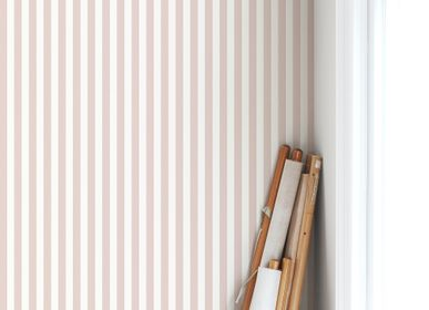 Other wall decoration - English Stripes Wallpaper - ALL THE FRUITS
