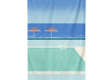 Bath towels - Beach towel Chambre d'Amour Horizon - LA MAISON JEAN-VIER