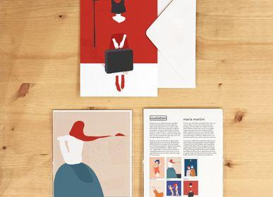 Carterie - Cartes de vœux | Comes home by Maria Martini - ILLUSTATION.IT