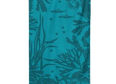Bath towels - Beach towel Marinella Abysse - LA MAISON JEAN-VIER