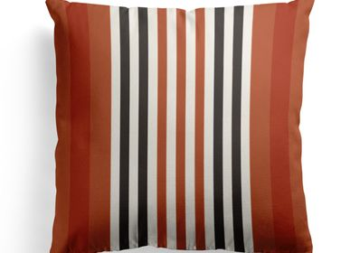 Fabric cushions - Ainhoa Fronton Cotton Cushion Cover - LA MAISON JEAN-VIER