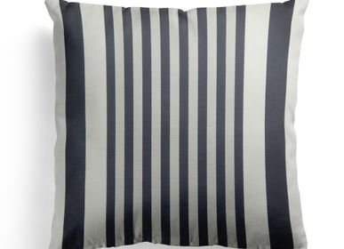 Fabric cushions - Ainhoa Réglisse Cotton Cushion Cover - LA MAISON JEAN-VIER