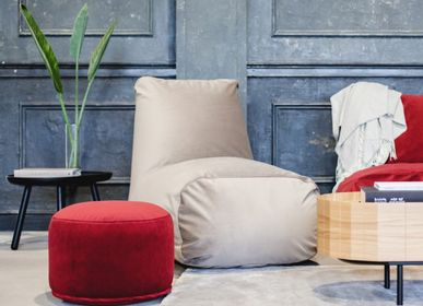 Ottomans - Pouf Mini Barcelona Bordo - PUSKUPUSKU