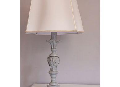 Table lamps - 01/G/Grigio Anticato - DI BENEDETTO LAMPADE