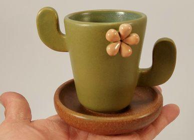 Tasses et mugs - Coupe de cactus - PACHAMAMA DI E. OCCHI LABORATORIO ARTIGIANO DI CERAMICA
