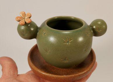 """Mugs - small """"MUG"""" cups  - PACHAMAMA DI E. OCCHI LABORATORIO ARTIGIANO DI CERAMICA"""