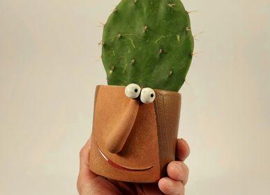 Vases - Small Plant pot. - PACHAMAMA DI E. OCCHI LABORATORIO ARTIGIANO DI CERAMICA