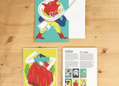 Carterie - Cartes de vœux | Apic Girl by Alice Parggio - ILLUSTATION.IT