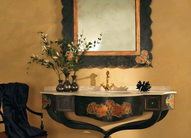 Bathroom equipment - Classic chic and hand-decorated Bathroom furniture - INTERIORS ITALIA