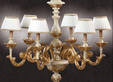 Hanging lights - 700/6/AO - DI BENEDETTO LAMPADE