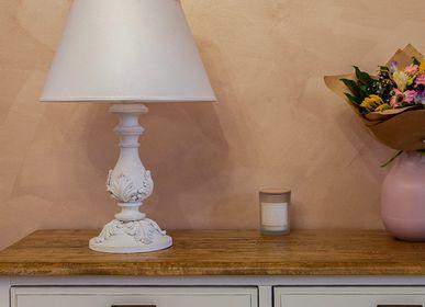 Table lamps - 02/G/Bianco Consumato - DI BENEDETTO LAMPADE