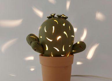 Céramique - Lampe à cactus - PACHAMAMA DI E. OCCHI LABORATORIO ARTIGIANO DI CERAMICA