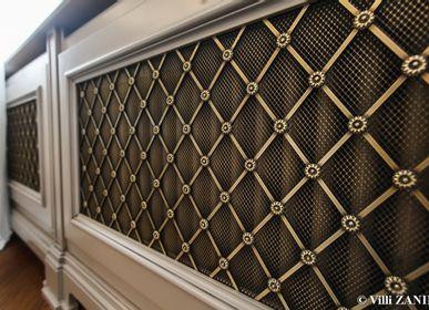 Artistic hardware - Architectural Bronze Radiator Cover - VILLIZANINI