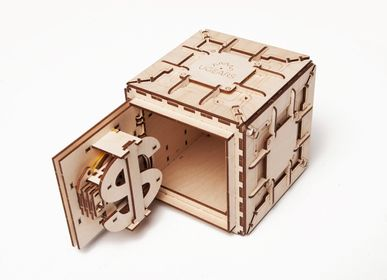 Gifts - UGEARS Mechanical Models: SAFE - UGEARS