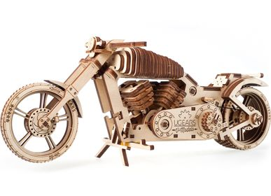 Gifts - UGEARS Mechanical Models: BIKE VM-02 25 - UGEARS