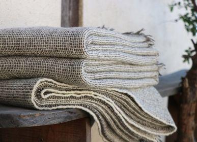 Plaids - Plaids en laine des Pyrénées, tissés main - LAINES PAYSANNES