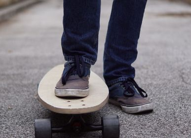 Kids accessories - Wooden Longboard to personalize — Street Art... - MANUFACTURE EN FAMILLE
