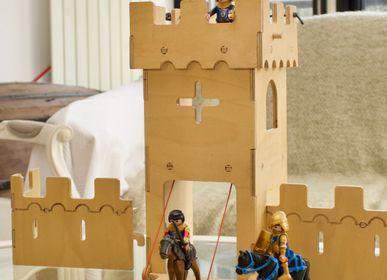 Toys - Plywood Castle - Family Building - MANUFACTURE EN FAMILLE
