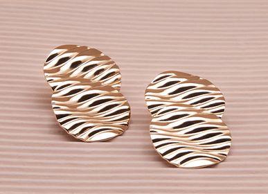 Jewelry - Double WAVY Nails - LES FEMMES À BARBES