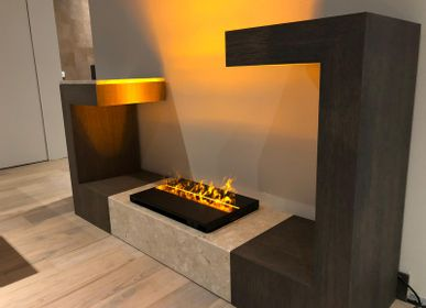 Other smart objects - 50 cm Water Vapor Fireplace - AFIRE 3D Electric Insert ADVANCE Design Decoration - AFIRE