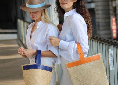 Chapeaux - Chapeau Portofino Bleu Ciel - LASTELIER