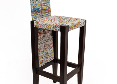 Kitchens furniture - BAR STOOL IN FOOD PACKAGING - RUE RANGOLI