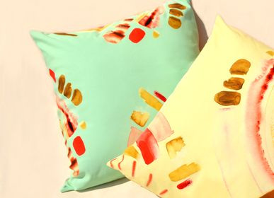 Fabric cushions - Menta Cushion Cover - IMOGEN HOPE