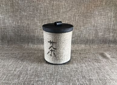 Caskets and boxes - Raku Cooking Tea Box - LES POTERIES DE SWANE