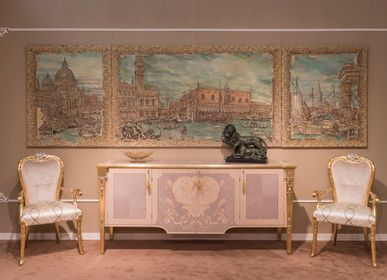 Unique pieces -  Venice as inspiration - IVAN CESCHIN FRESCOES DECORATIONS RESTORATIONS