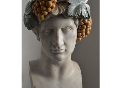 Sculptures, statuettes and miniatures - Bust of Bacchus or Dionysus  - TODINI SCULTURE