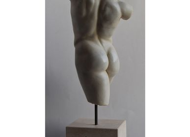 Sculptures, statuettes and miniatures - Male Torso 5 - TODINI SCULTURE