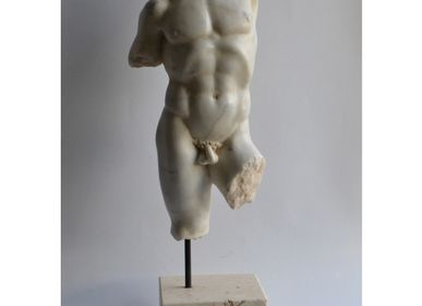Sculptures, statuettes and miniatures - Male torso 3 - TODINI SCULTURE
