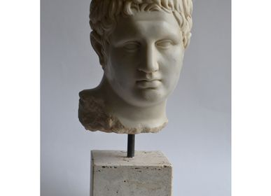 "Sculptures, statuettes and miniatures - Classic head ""Lysippea"" - TODINI SCULTURE"