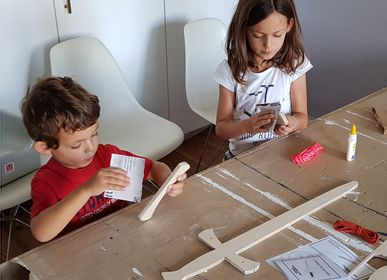 Children's dress-up - The Bayard Sword — Wooden Sword to Build together—Middle Ages Knight - MANUFACTURE EN FAMILLE