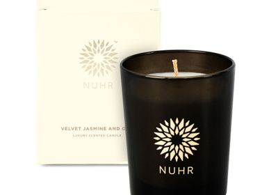 Cadeaux - Velvet Jasmine and Oud Luxury Scented Candle - NUHR