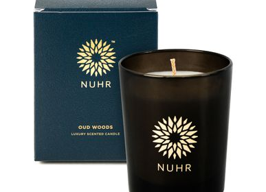 Cadeaux - Oud Woods Luxury Scented Candle - NUHR